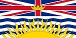 British Columbia Flag Stickers